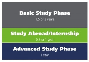 Phases of the Bachelor of Science in Business Administration