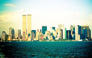 Lower Manhattan with the World Trade Center